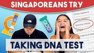 Singaporeans Try: Taking DNA Test + GIVEAWAY!