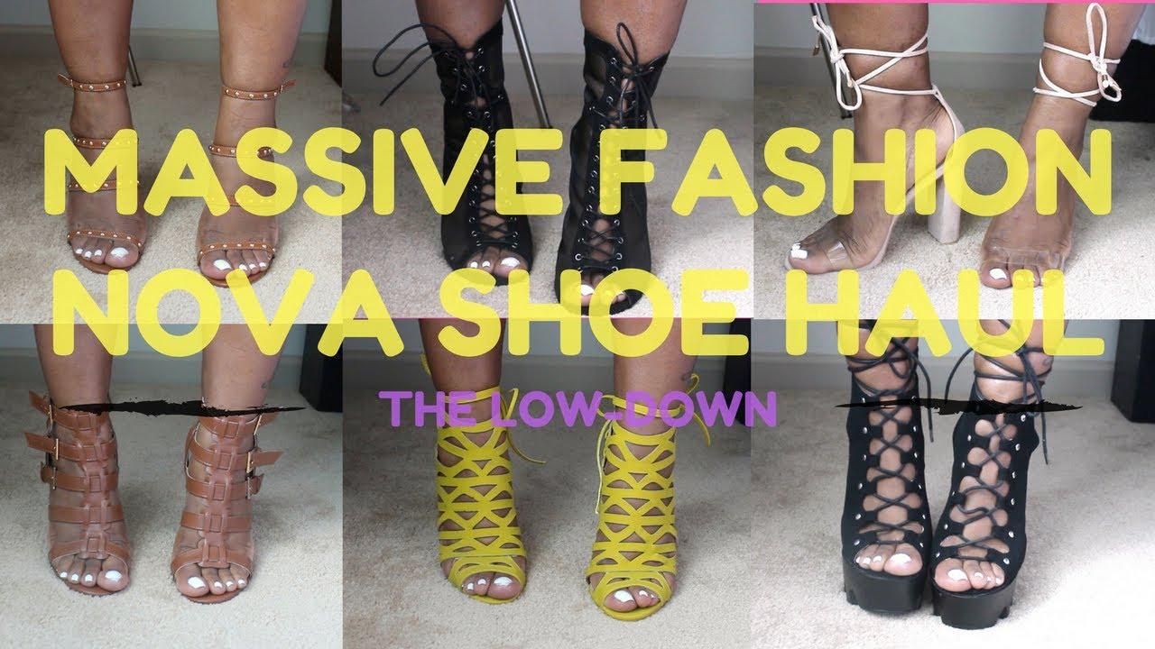 5092a3ca9d68 Fashion Nova Shoe Try On Haul 2017 - YouTube