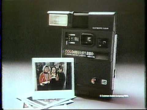 1980 Kodak Colorburst 250 Instant Camera Commercial