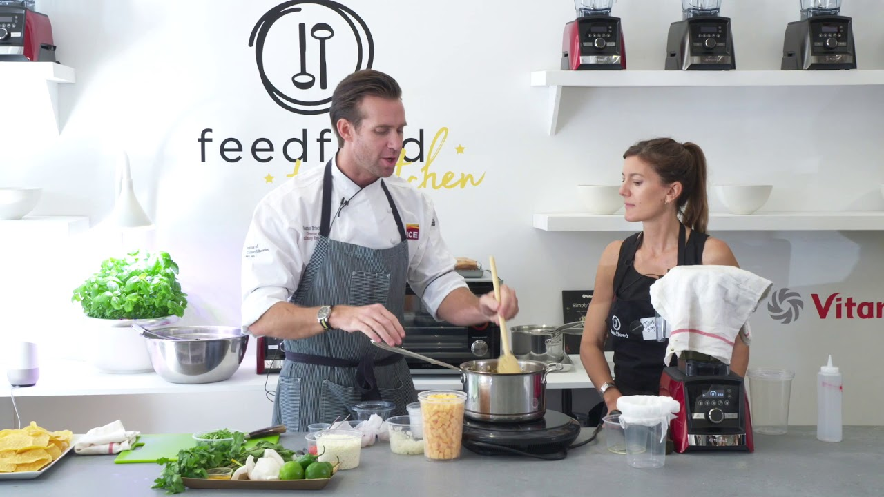 James Briscione and the feedfeed in the Food Loves Tech Test Kitchen ...