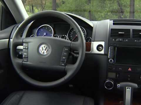 volkswagen touareg 2 3 0l v6 tdi clean diesel youtube. Black Bedroom Furniture Sets. Home Design Ideas
