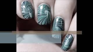 Swil Watermarble nail