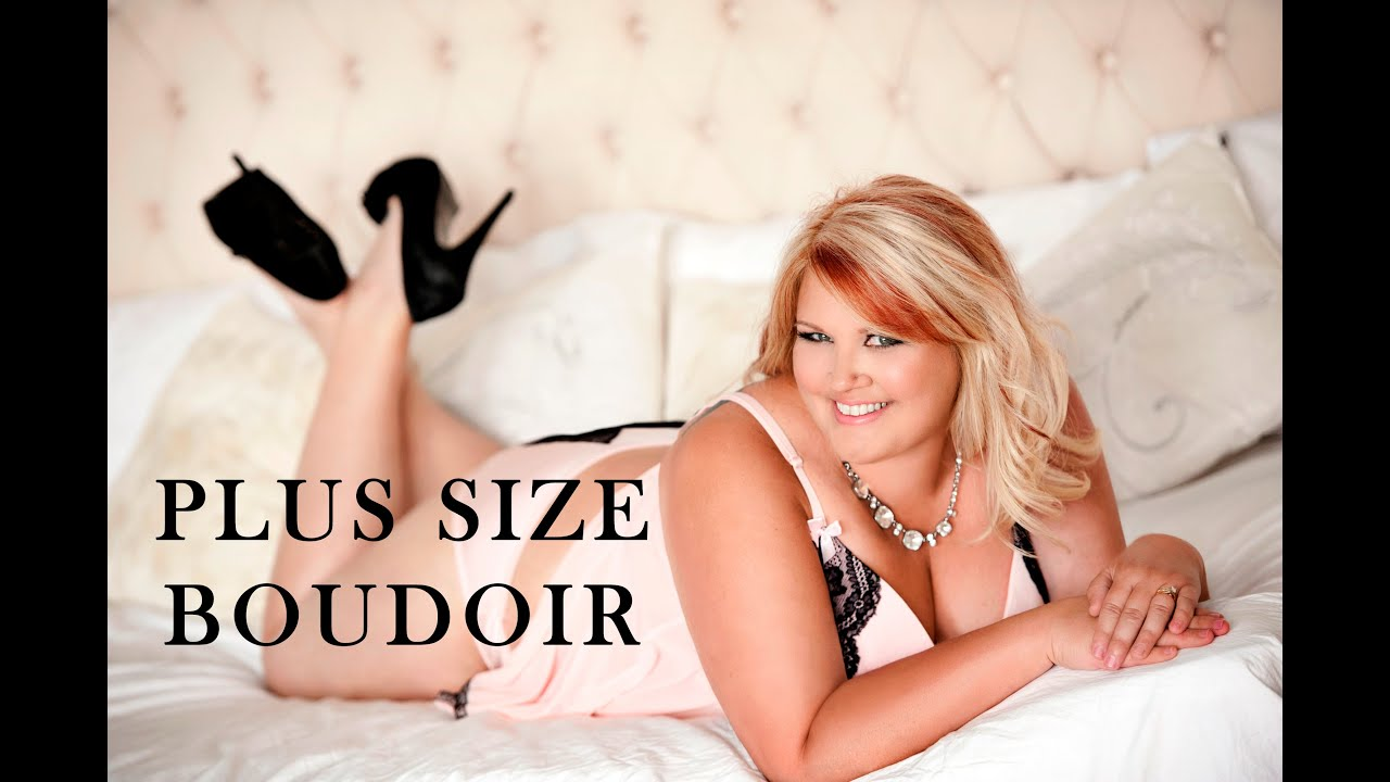 Plus size lingerie photoshoot 3