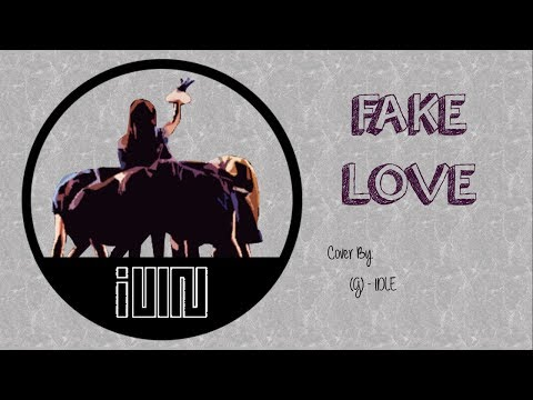 FAKE LOVE / Cover - (G)IDLE - Easy Lyrics