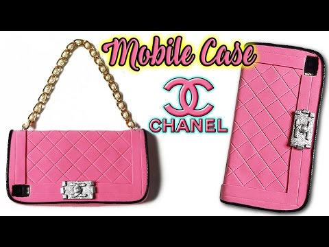 new style 8576d f54e8 📱👜 DIY: CHANEL Handbag Mobile Case (Without the Mobile Phone) 👜📱
