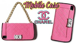 📱👜 DIY: CHANEL Handbag Mobile Case (Without the Mobile Phone) 👜📱