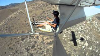 Flying the Super Floater in Tehachapi