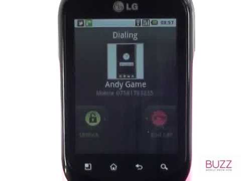 Contact favourites | LG Optimus Chat | The Human Manual