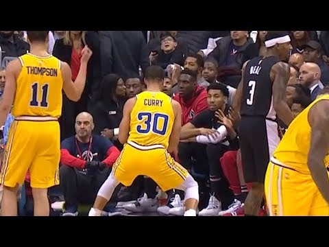 Stephen Curry Dances infront of Wizards Bench - Warriors vs Wizards | January 24, 2019