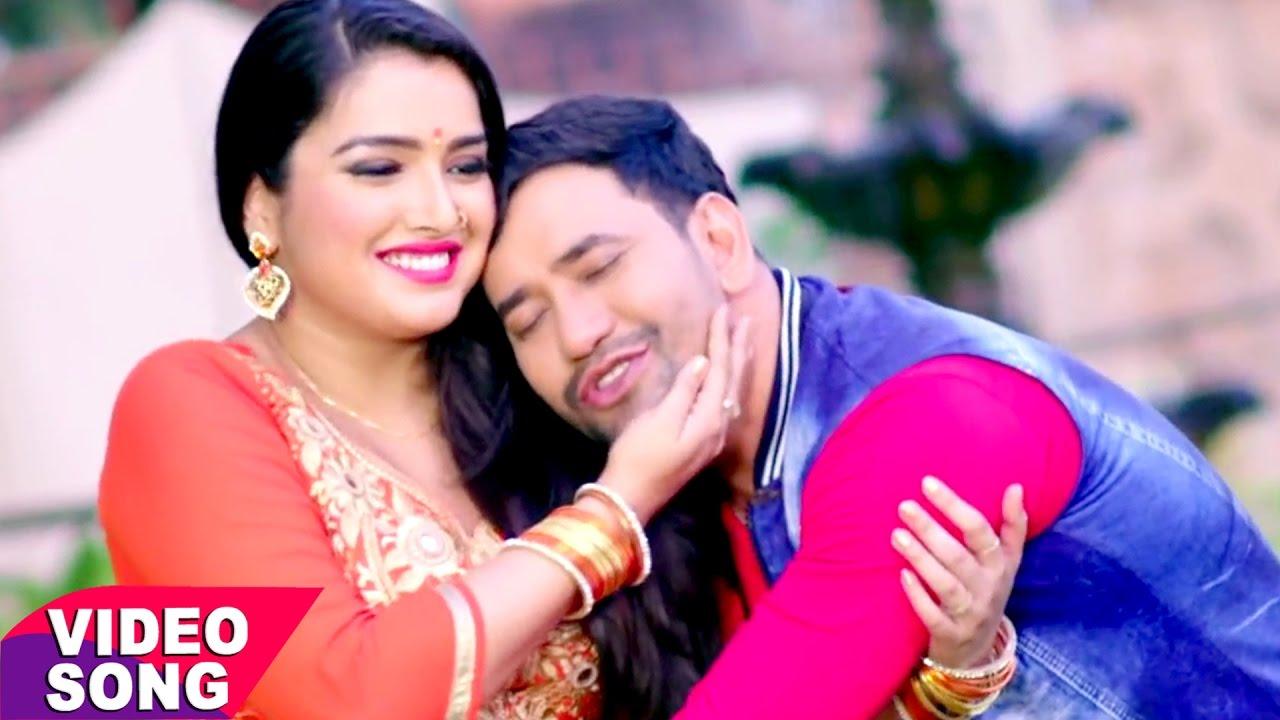 Amrapali dubey-nirahua's bhojpuri video song katore katore will.
