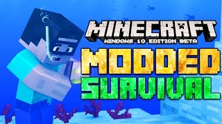 Minecraft Windows 10 Edition Modded Survival Let's Play [1]
