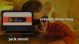 vedalam theme song | ringtone video | jack music.