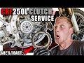 CRF250L Clutch Swap & Judder Spring Removal! | #250LMods