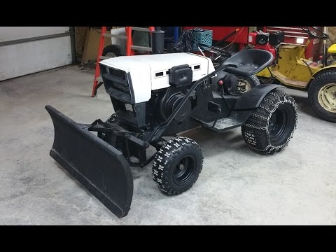 10HP Diesel Roper / Sears Garden Tractor ***Build Part 7***