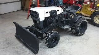 10hp Diesel Roper / Sears Garden Tractor ***build Part 7***