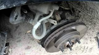 видео Подшипник ступицы Киа Рио: замена переднего и заднего подшипника
