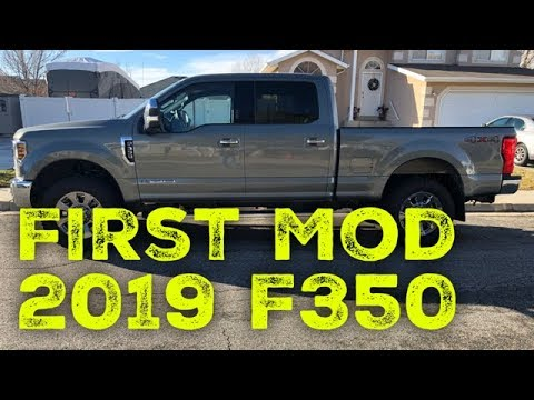 Leveling/Lowering 2019 F350 Better for Towing 5th Wheel