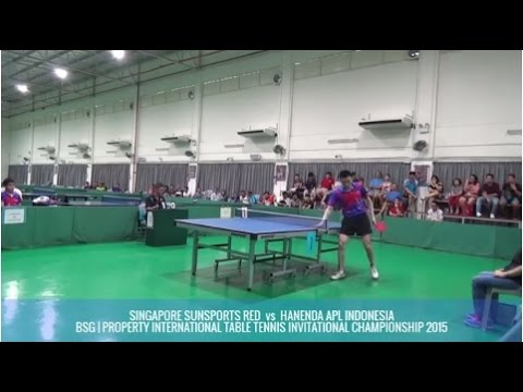 SINGAPORE SUNSPORTS RED Vs HANENDA APL INDONESIA - TEAM EVENT