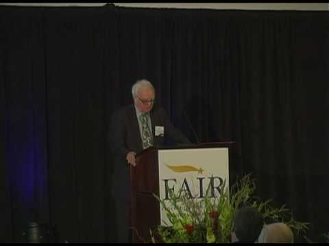 Dr. Otis Graham at FAIR Board of Advisors Conference