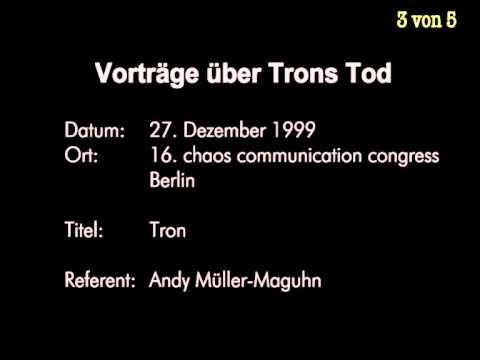 Tod von Hacker Tron (Vorträge des CCC)