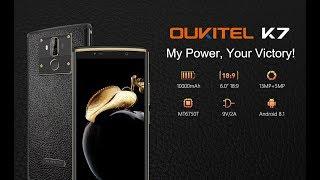 oukitel K7 10000mAh Большой телефон, для больших людей)