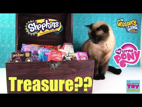 Thumbnail: Simon's Blind Bag Treasure Chest Unboxing #20 | Squinkies Shopkins Disney Peanuts | PSToyReviews