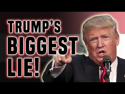YOU WONT BELIEVE THIS BIGGEST DONALD TRUMP LIE - YouTube