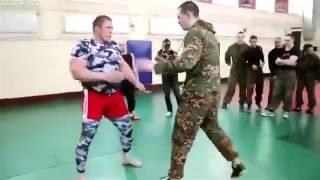 Russian special forces VS MMA  Legion de Angeles