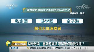 [中国财经报道]财经数读:暑期游盘点 哪些景点最受关注?| CCTV财经