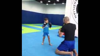 4 Year Old Muay Thai Prodigy