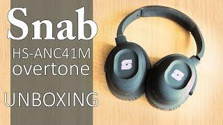 Snab HS-ANC41M OverTone - unboxing i szybka prezentacja