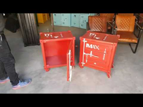 Container style furniture