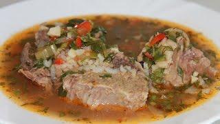Харчо. Очень вкусный грузинский суп.