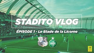 CABELLA CLIMATISE LA LICORNE | VLOG #1 Amiens SC-ASSE - STADE DE LA LICORNE
