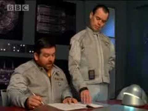 Set lasers to patriotic - Hyperdrive - BBC comedy