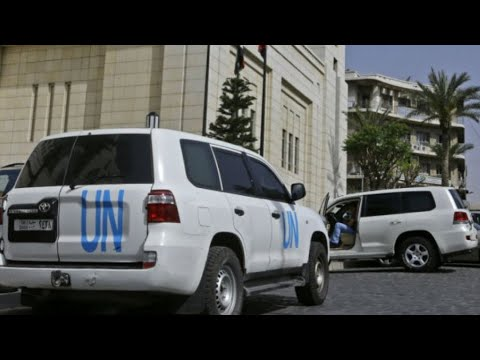 سوريا: فريق منظمة حظر الأسلحة الكيميائية يجمع عينات من دوما