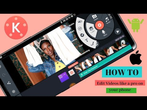 HOW TO EDIT YOUTUBE VIDEOS LIKE A PRO FOR FREE | ANDROID & IPHONE | EASY | 2018