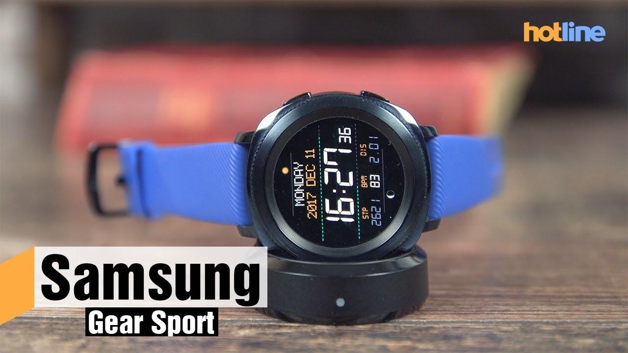 Samsung Gear Sport — обзор умных часов
