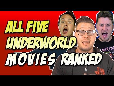 All 5 Underworld Movies Ranked Worst to Best w/ Underworld: Blood Wars