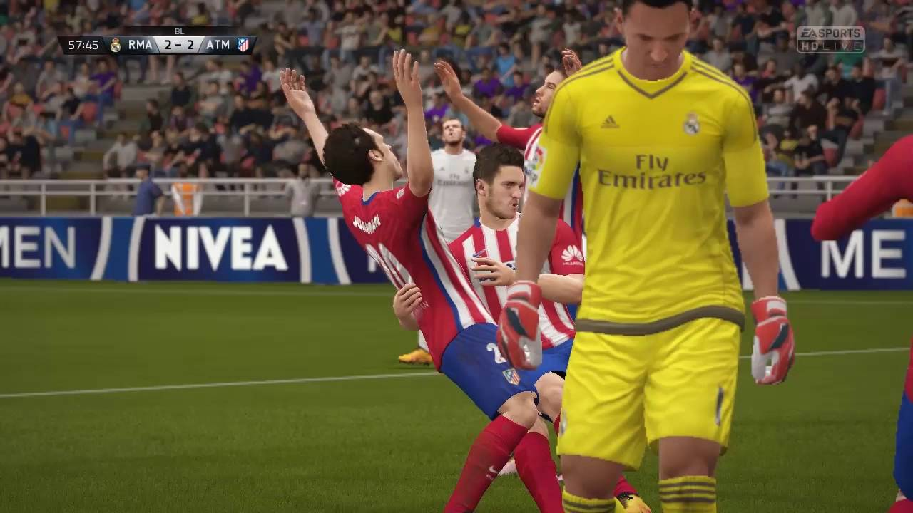 FIFA 16 Bajnokok Ligája Döntő Real MadridvsAtletico Madrid ...