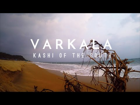 Varkala cliff beach | Kerala | Gopro | India | Kashi of South India