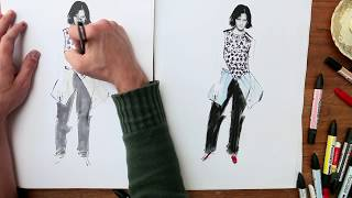 SHOWstudio: J.W Anderson S/S 2013 Fashion Illustration