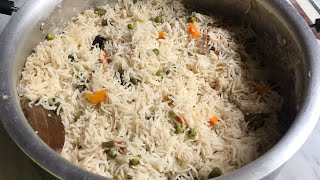 Vegetable pulao recipe | simple veg pulao recipe