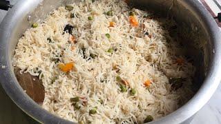 Vegetable pulao recipe  simple veg pulao recipe