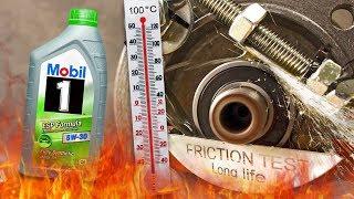 Mobil 1 ESP Formula 5W30 Jak skutecznie olej chroni silnik? 100°C