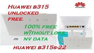 Download Unlock Huawei Mifi Free B310 B315 B525 B593 B683