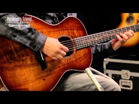 Taylor K24e Grand Auditorium ES2 Acoustic Electric Guitar Shaded Edgeburst
