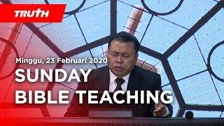 Download Lagu MENGIKUT YESUS, MENCARI MASALAH   Pdt. Dr. Erastus Sabdono - 20200223 (SBT) mp3