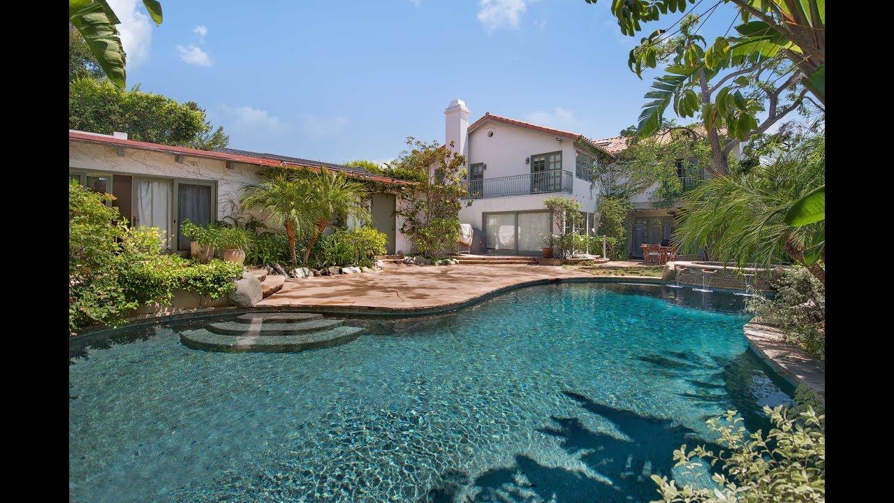 437 N Bonhill Road, Los Angeles - YouTube