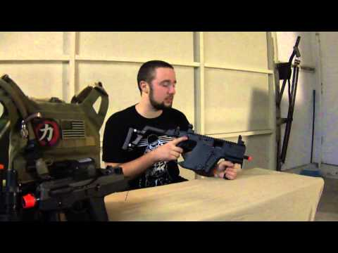 KWA Kriss Vector SMG Gameplay, Review, Overview, Unboxing, and bloopers LOTUS AIRSOFT TEAM